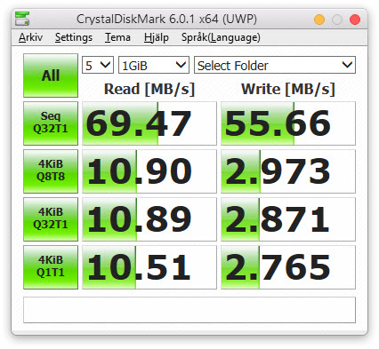 Sd Karte Geschwindigkeit Testen.Crystal Disk Mark Speed Test Svendus Blog