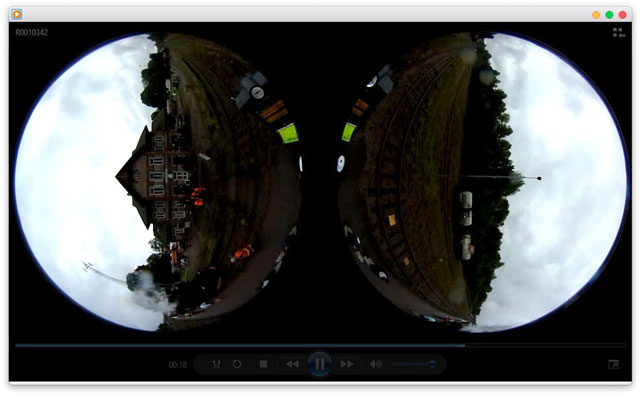 Could you share original footage (stereoscopic video